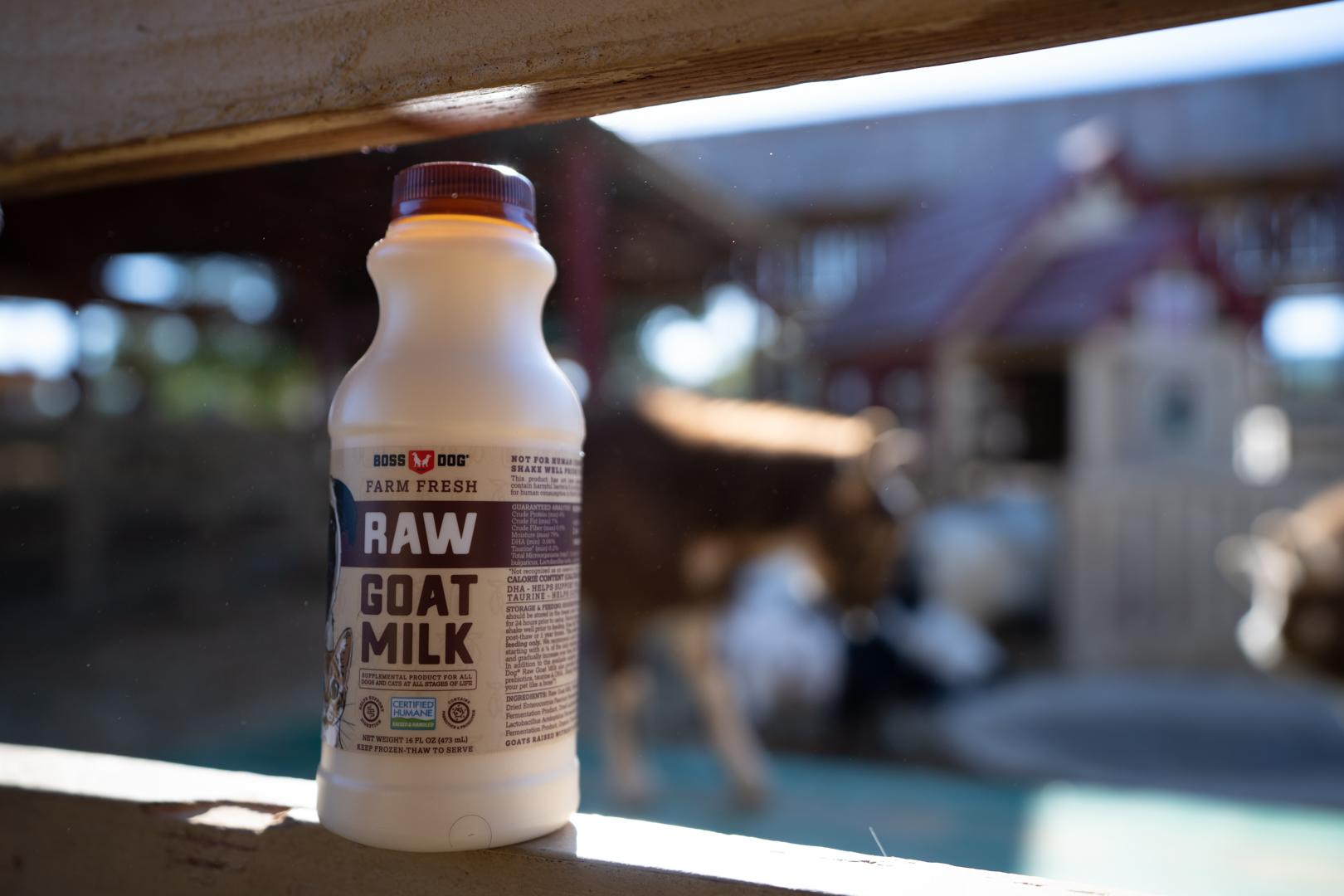 goat milk for dogs
